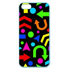 Right Direction   Colorful Apple Seamless Iphone 5 Case (color) by Valentinaart