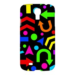 Right Direction   Colorful Samsung Galaxy S4 I9500/i9505 Hardshell Case