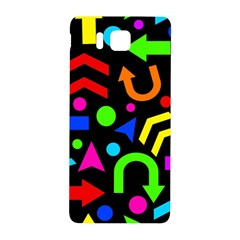 Right Direction   Colorful Samsung Galaxy Alpha Hardshell Back Case by Valentinaart