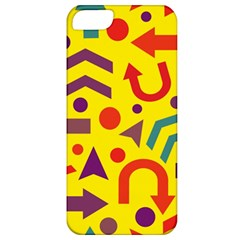 Yellow Direction Apple Iphone 5 Classic Hardshell Case by Valentinaart