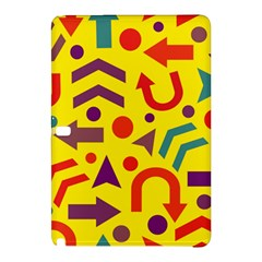 Yellow Direction Samsung Galaxy Tab Pro 12 2 Hardshell Case by Valentinaart