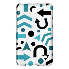 Cyan Direction Pattern Samsung Galaxy Tab 4 (8 ) Hardshell Case  by Valentinaart