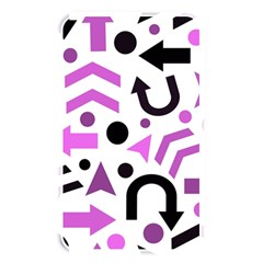 Magenta Direction Pattern Memory Card Reader by Valentinaart