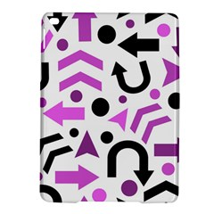 Magenta Direction Pattern Ipad Air 2 Hardshell Cases by Valentinaart