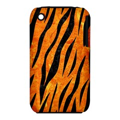 Skin3 Black Marble & Orange Marble (r) Apple Iphone 3g/3gs Hardshell Case (pc+silicone) by trendistuff