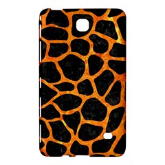 Skin1 Black Marble & Orange Marble (r) Samsung Galaxy Tab 4 (8 ) Hardshell Case  by trendistuff