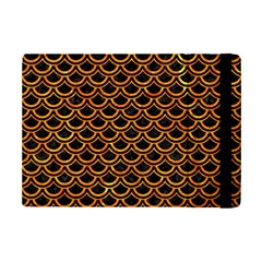 Scales2 Black Marble & Orange Marble Apple Ipad Mini 2 Flip Case by trendistuff