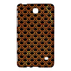 Scales2 Black Marble & Orange Marble Samsung Galaxy Tab 4 (8 ) Hardshell Case  by trendistuff