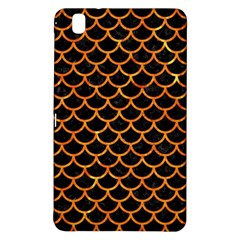Scales1 Black Marble & Orange Marble Samsung Galaxy Tab Pro 8 4 Hardshell Case by trendistuff