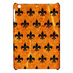 Royal1 Black Marble & Orange Marble Apple Ipad Mini Hardshell Case by trendistuff