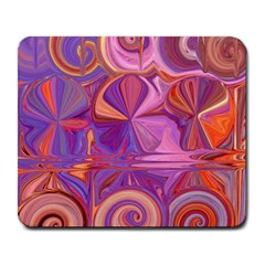 Candy Abstract Pink, Purple, Orange Large Mousepads by digitaldivadesigns