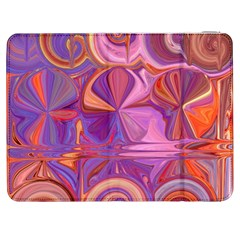 Candy Abstract Pink, Purple, Orange Samsung Galaxy Tab 7  P1000 Flip Case