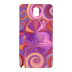 Candy Abstract Pink, Purple, Orange Samsung Galaxy Note 3 N9005 Hardshell Back Case by digitaldivadesigns