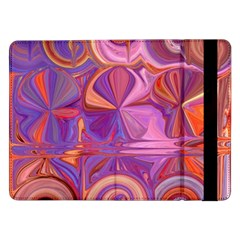 Candy Abstract Pink, Purple, Orange Samsung Galaxy Tab Pro 12 2  Flip Case