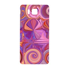 Candy Abstract Pink, Purple, Orange Samsung Galaxy Alpha Hardshell Back Case by digitaldivadesigns