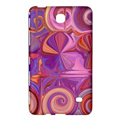 Candy Abstract Pink, Purple, Orange Samsung Galaxy Tab 4 (8 ) Hardshell Case  by digitaldivadesigns