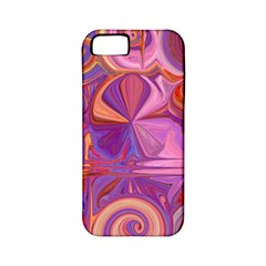 Candy Abstract Pink, Purple, Orange Apple Iphone 5 Classic Hardshell Case (pc+silicone) by digitaldivadesigns