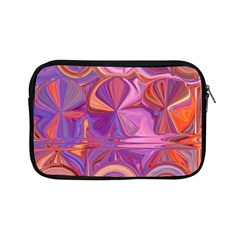 Candy Abstract Pink, Purple, Orange Apple Ipad Mini Zipper Cases by digitaldivadesigns