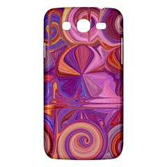 Candy Abstract Pink, Purple, Orange Samsung Galaxy Mega 5 8 I9152 Hardshell Case  by digitaldivadesigns