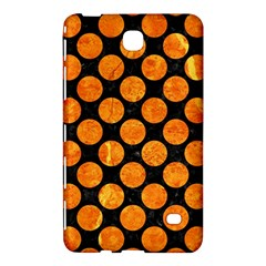 Circles2 Black Marble & Orange Marble Samsung Galaxy Tab 4 (8 ) Hardshell Case  by trendistuff