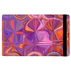 Candy Abstract Pink, Purple, Orange Apple Ipad 2 Flip Case by digitaldivadesigns