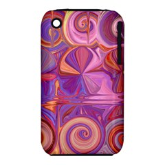 Candy Abstract Pink, Purple, Orange Iphone 3s/3gs by digitaldivadesigns
