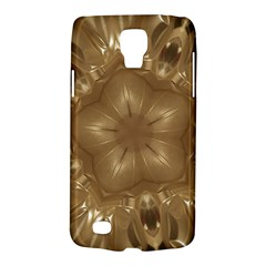 Elegant Gold Brown Kaleidoscope Star Galaxy S4 Active by yoursparklingshop