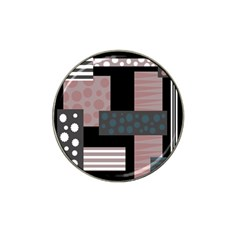 Collage  Hat Clip Ball Marker (4 Pack)