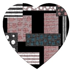 Collage  Jigsaw Puzzle (heart) by Valentinaart