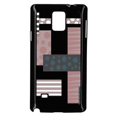 Collage  Samsung Galaxy Note 4 Case (black) by Valentinaart