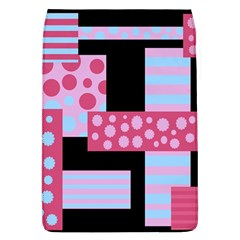 Pink Collage Flap Covers (l)  by Valentinaart