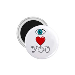 I Love You 1 75  Magnets by Valentinaart