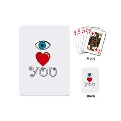 I Love You Playing Cards (mini)