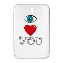 I Love You Samsung Galaxy Note 8 0 N5100 Hardshell Case  by Valentinaart