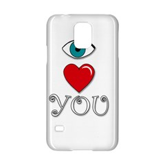 I Love You Samsung Galaxy S5 Hardshell Case  by Valentinaart