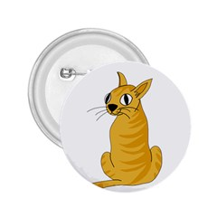 Yellow cat 2.25  Buttons