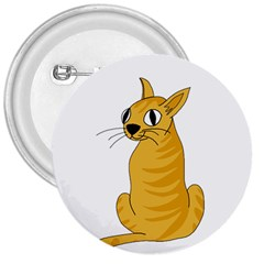 Yellow cat 3  Buttons