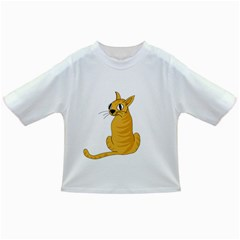 Yellow cat Infant/Toddler T-Shirts