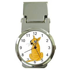 Yellow cat Money Clip Watches