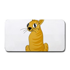 Yellow cat Medium Bar Mats