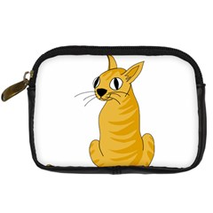 Yellow cat Digital Camera Cases