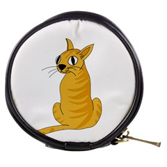 Yellow cat Mini Makeup Bags