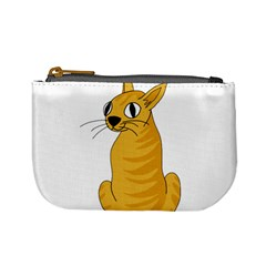 Yellow cat Mini Coin Purses