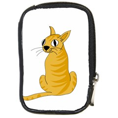 Yellow cat Compact Camera Cases