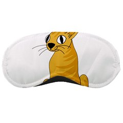 Yellow cat Sleeping Masks