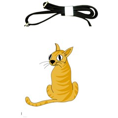 Yellow cat Shoulder Sling Bags