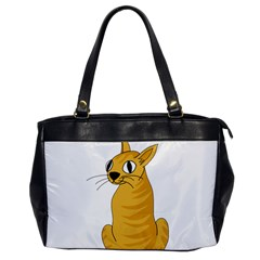 Yellow cat Office Handbags