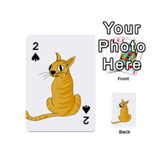 Yellow cat Playing Cards 54 (Mini)