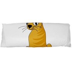 Yellow cat Body Pillow Case Dakimakura (Two Sides)