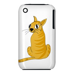 Yellow cat iPhone 3S/3GS